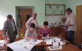 Skupinová práce klientů motivačního kurzu Rožnov pod Radhoštěm - říjen 2013 - 1