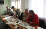 Skupinová práce klientů motivačního kurzu Rožnov pod Radhoštěm - říjen 2013 - 3