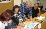 Skupinová práce klientů motivačního kurzu Zlín - prosinec 2013 - 1
